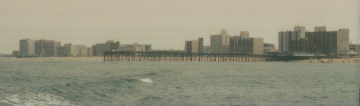 15th Street Pier & Dolphins Run (last tall building on left) – CLICK for Dolphins Run WEBSITE